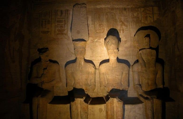 Festival of the Sun of the Temple of Abu Simbel