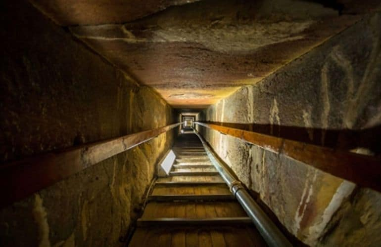 Inside the Great Pyramid of Cheops