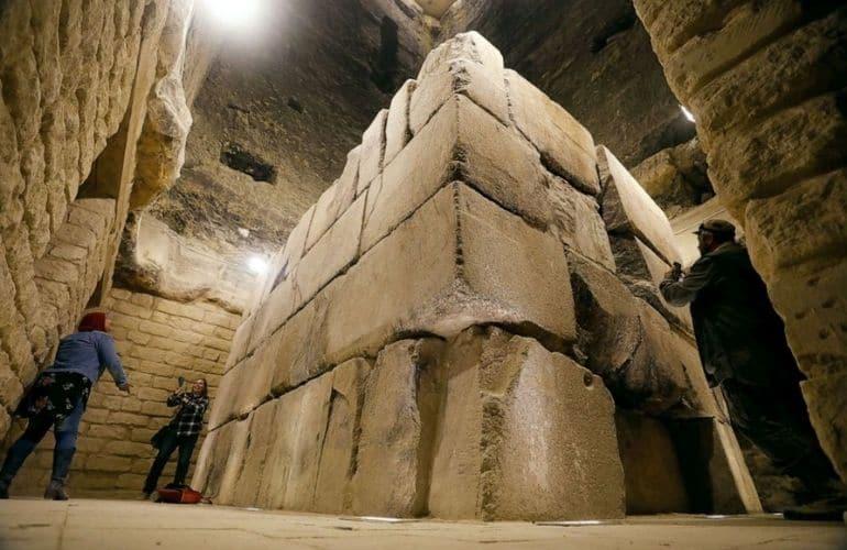 Inside the Step Pyramid