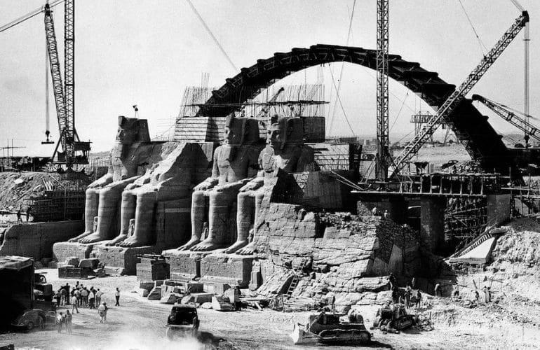 Saving the Temples of Abu Simbel