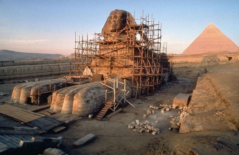 The Construction of the Sphinx