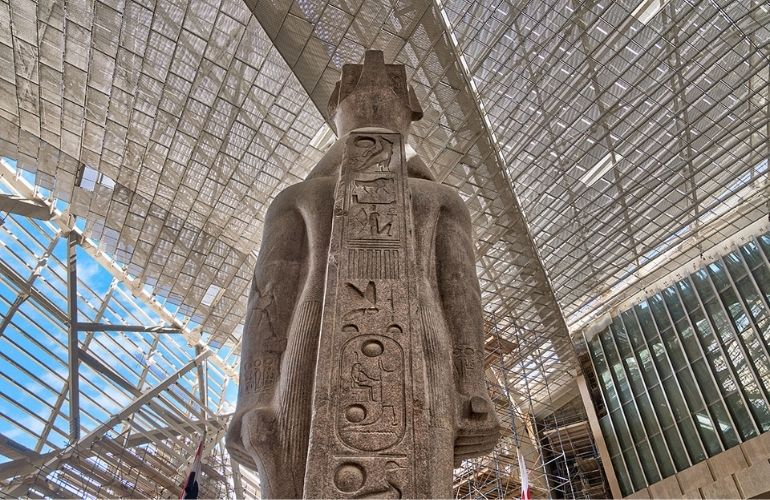 The Exhibitions at The Grand Egyptian Museum
