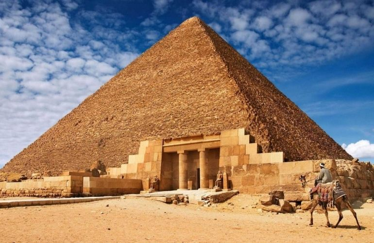 The Great Pyramid of King Cheops (Khufu)