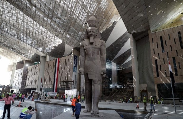 The History of The Grand Egyptian Museum