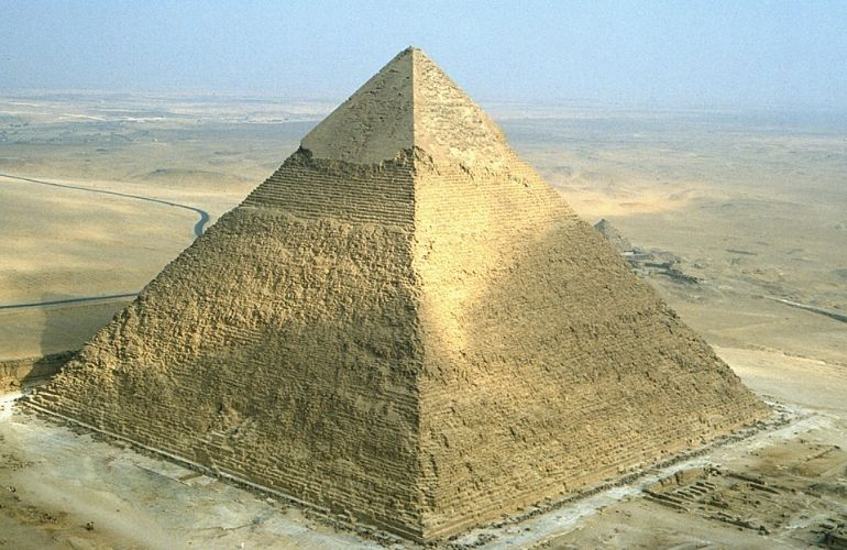 The Pyramid of King Chephren (Khafre)