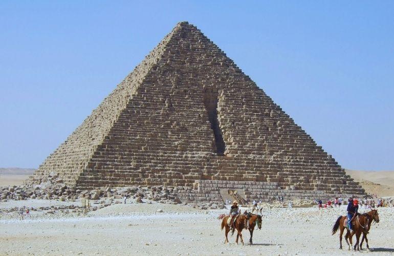 The Pyramid of King Mykerinos (Menkaure)