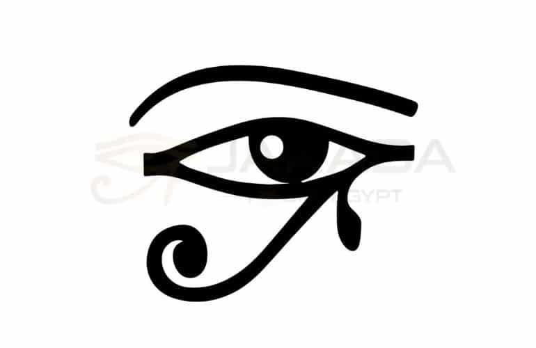Eye of Ra egyptian symbols and their names