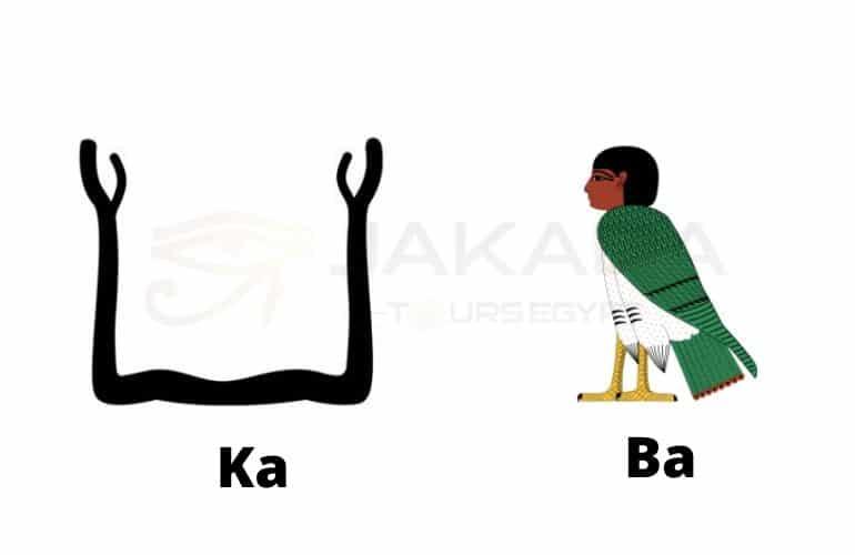 Ka and ba egypt symbols and their names