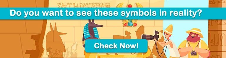 egypt symbols banner