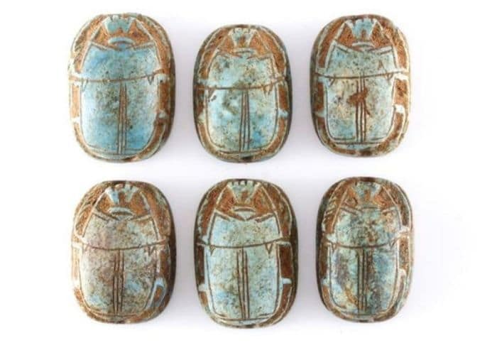 The Egyptian scarab beetle and it's meaning