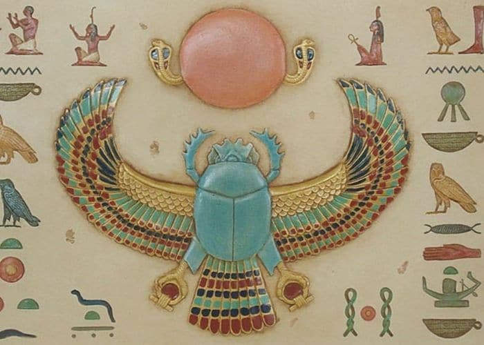 The scarab beetle and mummification facts in ancient Egypt