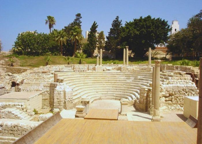 alexandria amphitheater